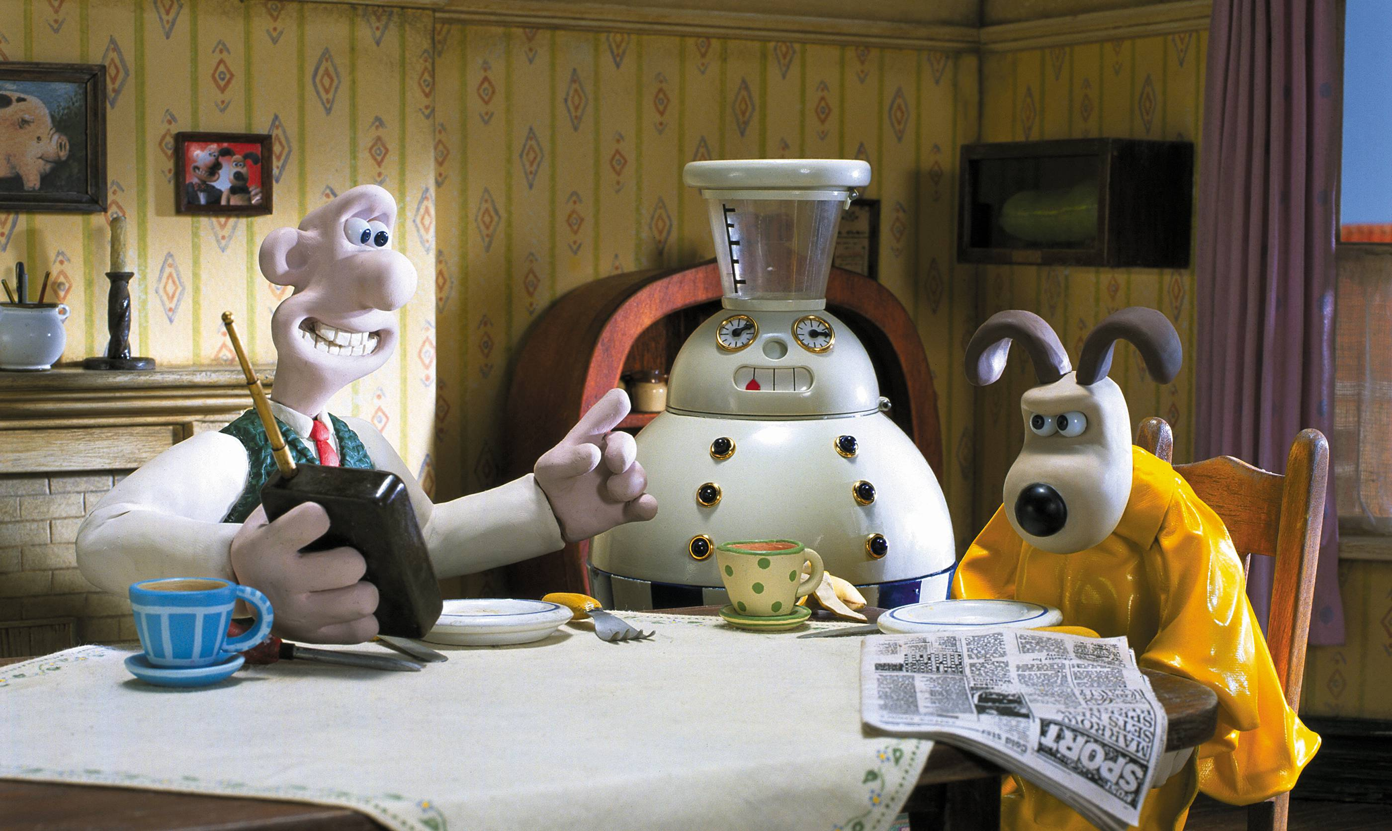Cracking Contraptions  Wallace and Gromit