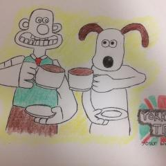 Wallance and Gromit tea advertisement