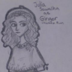 Julia Sawalha as Ginger