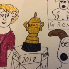 Gromit wins crufts