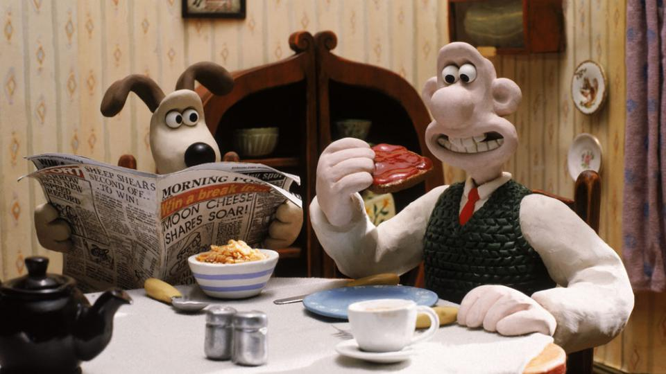 Wallace and Gromit meet Tony Blair!