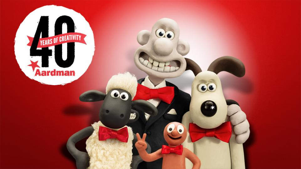 Aardman Celebrates 40 Years of Creativity!
