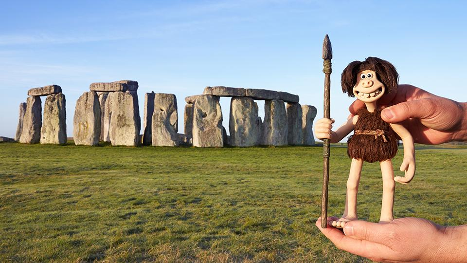 Follow Early Man Quests at English Heritage Sites!