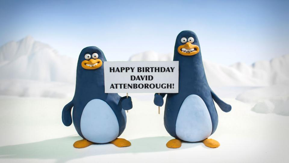 Aardman Creates Animations for Attenborough at 90!