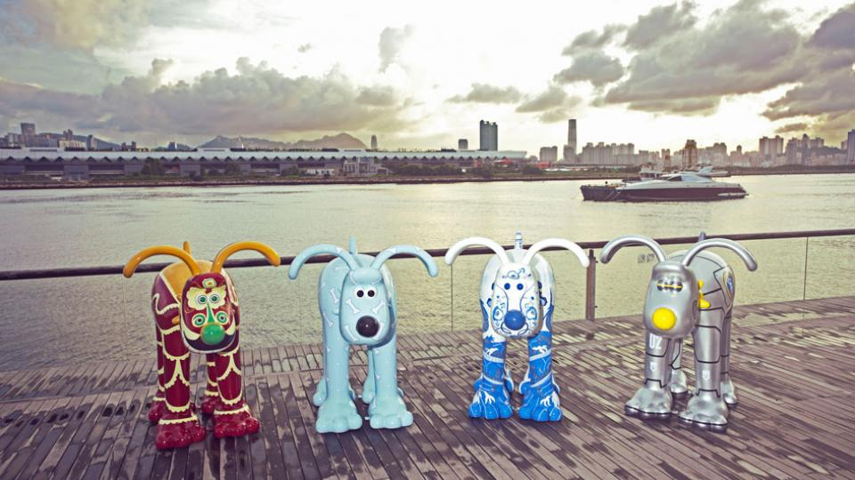 Hong Kong Gromits Come to Bristol!