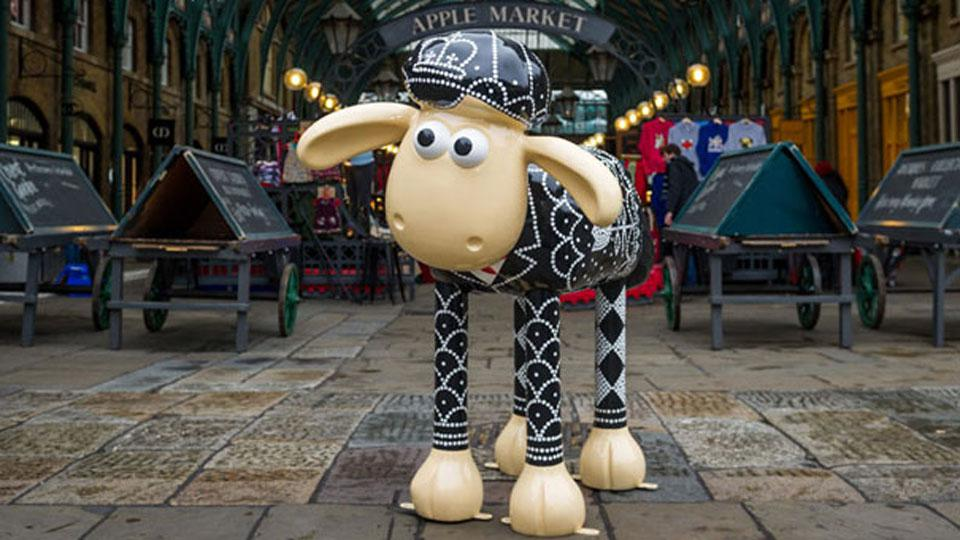 SHAUN IN THE CITY EXHIBITION ARRIVES IN LONDON