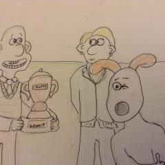 Gromit wins crufts- retake