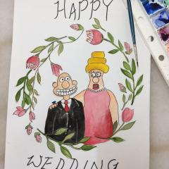 Wallace's wedding day~