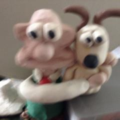 Wallace with gromit