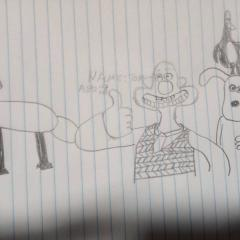 my wallace and gromit drawing