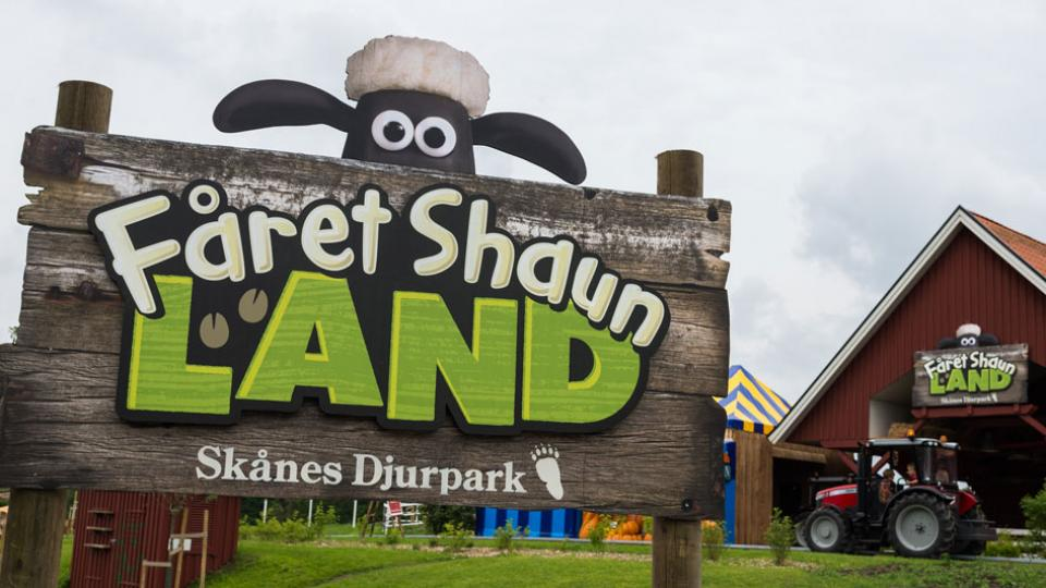 Shaun the Sheep Land Opens at Skånes Djurpark in Sweden!