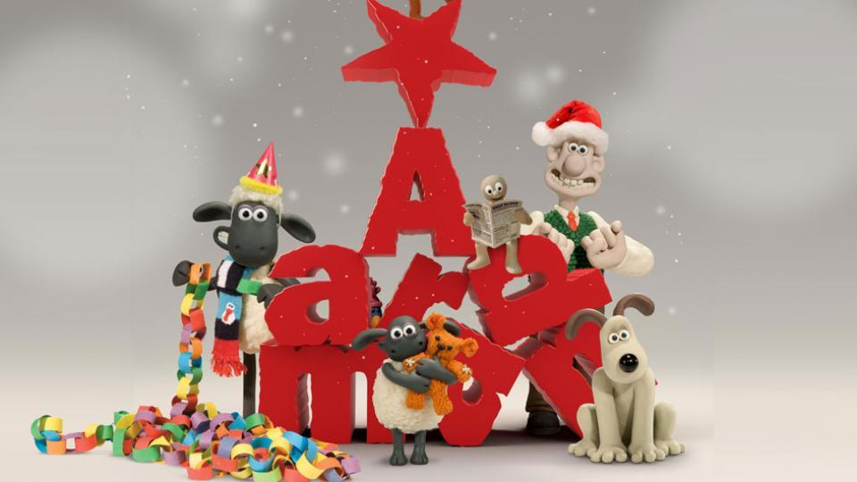 Aardman Christmas TV schedule 2017